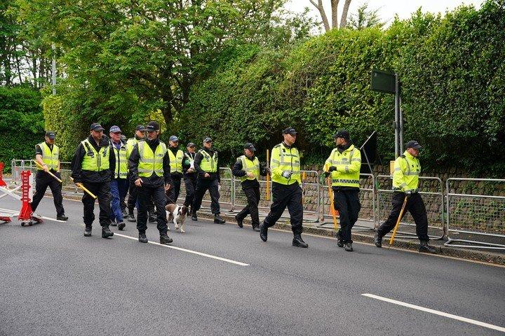 Una gigantesca operación policial protegerá la cumbre del G7 en Gran Bretaña.  Foto: DPA