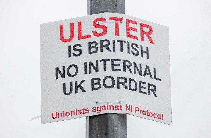 Irlanda del Norte y Brexit, otro tema en debate.  Foto: AFP