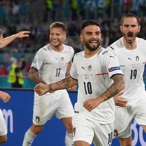 Italia comenzó toda la Euro: 3-0 a Turquía