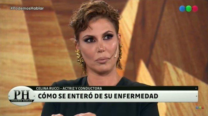 Celina Rucci habló sobre su lucha contra la leucemia en el programa de Andy Kusnetzoff.