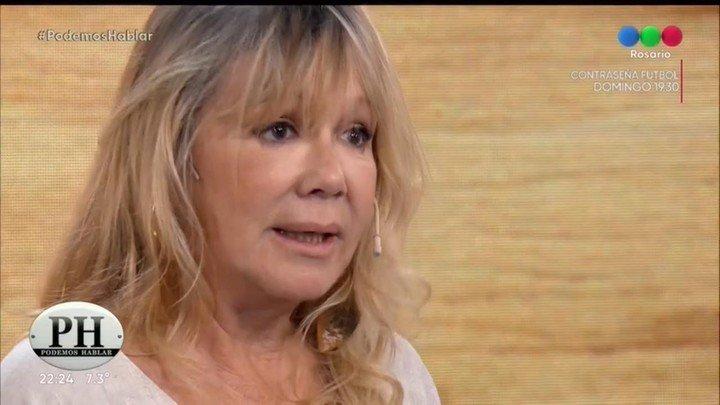 """En debo decir """"Solo"""" Confesó que no ha tenido relaciones sexuales durante dos años.  Captura de TV."""