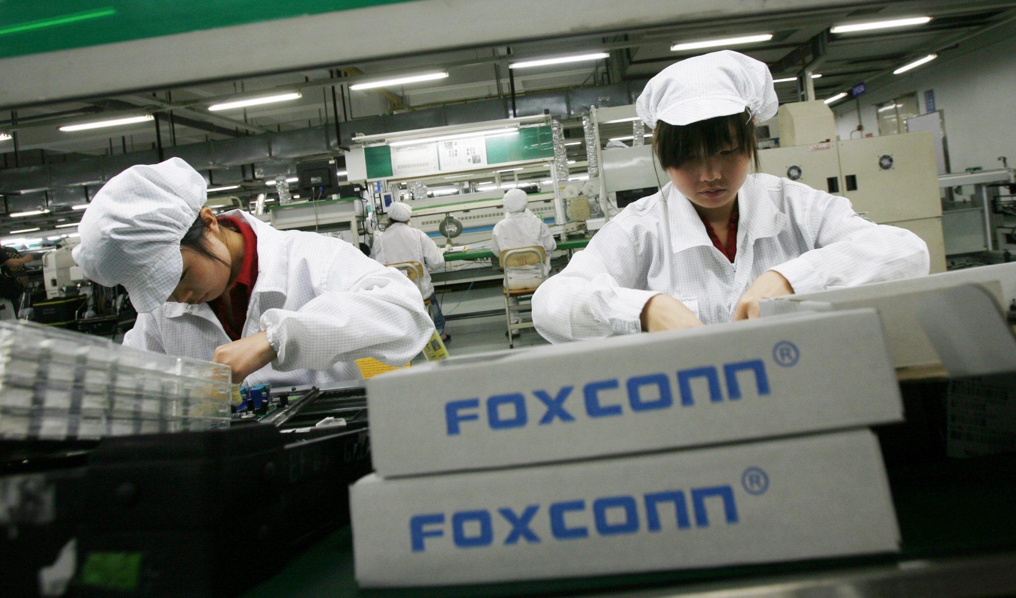 Proveedor Apple, Foxconn