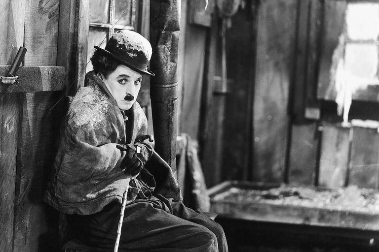 La fiebre del oro, con Charles Chaplin