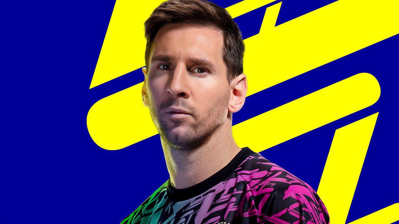 El argentino Lionel Messi es el rostro de la nueva edición de eFootball de Konami.