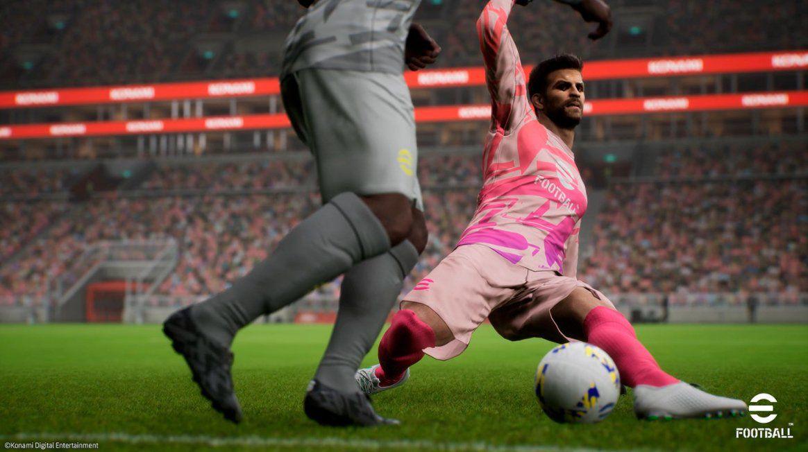 Desde 2020, Konami ha agregado el nombre eFootball a sus clásicos de PES.  Ahora ya no desarrollarán Pro Evolution Soccer.