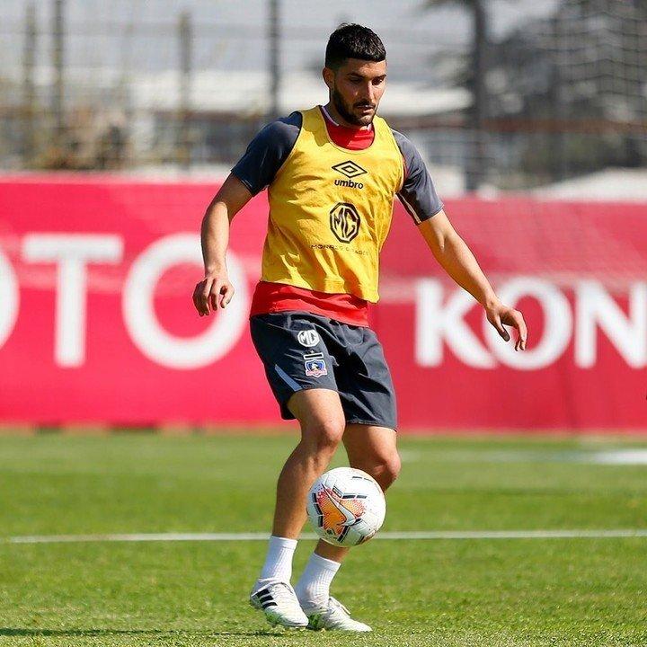 El delantero llegó a Colo Colo en 2020.