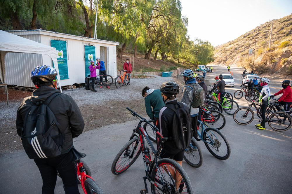 Bicicleta de montaña, 2a clínica deportiva