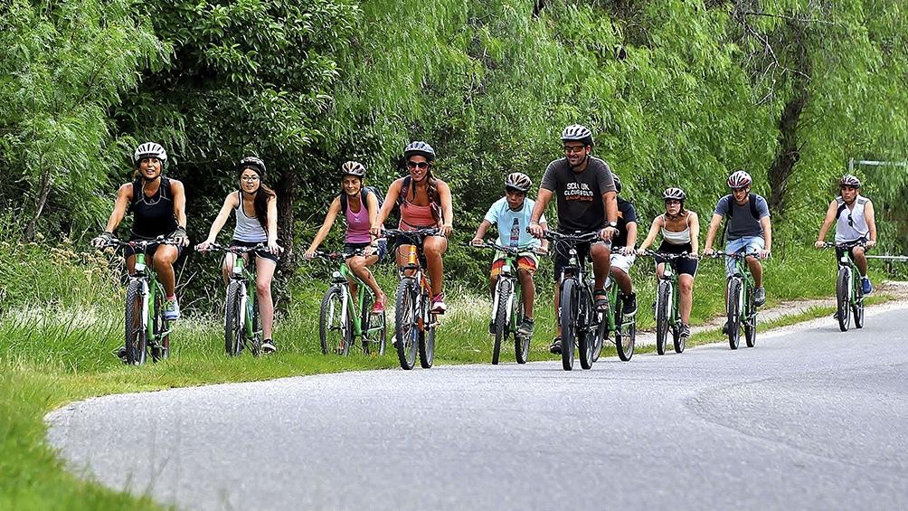 También en la Patagonia, el trekking es el sexto motivo deportivo que exhibe Inprotur.