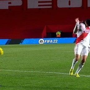 Éxito del VAR: El gol de Carrascal fue derrotado con éxito