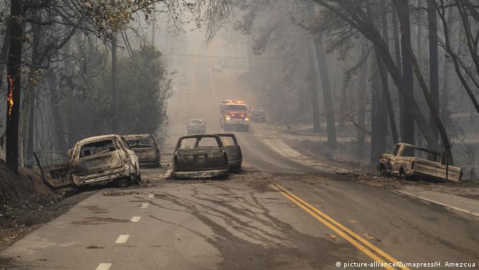 Accidentes automovilísticos quemados en una carretera rural: las consecuencias del incendio del campamento hace tres años fueron devastadoras