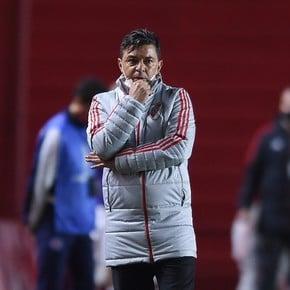 La secuela de Gallardo en los cuartos de final de la Copa: ¡nunca perdió!