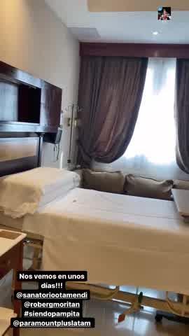 Pampita mostró en su último control: mostró detalles de la habitación donde dará a luz