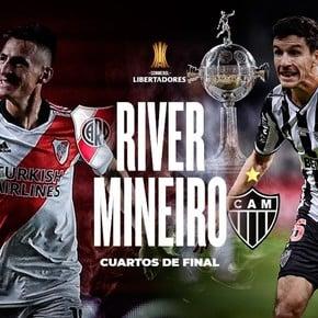 River vs.  Mineiro de Nacho Fernández en cuartos de final: cuando jugar