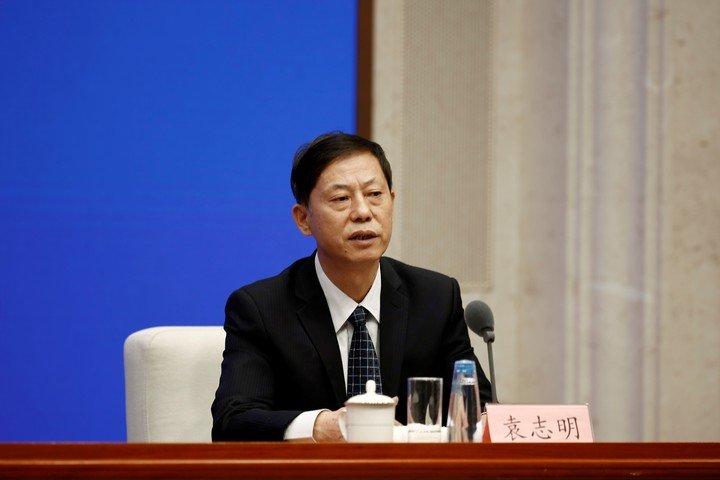 Yuan Zhiming, director del Laboratorio Nacional de Bioseguridad (Wuhan) y profesor del Instituto de Virología de Wuhan, ya rechazó la posibilidad.  Foto REUTERS / Shubing Wang.