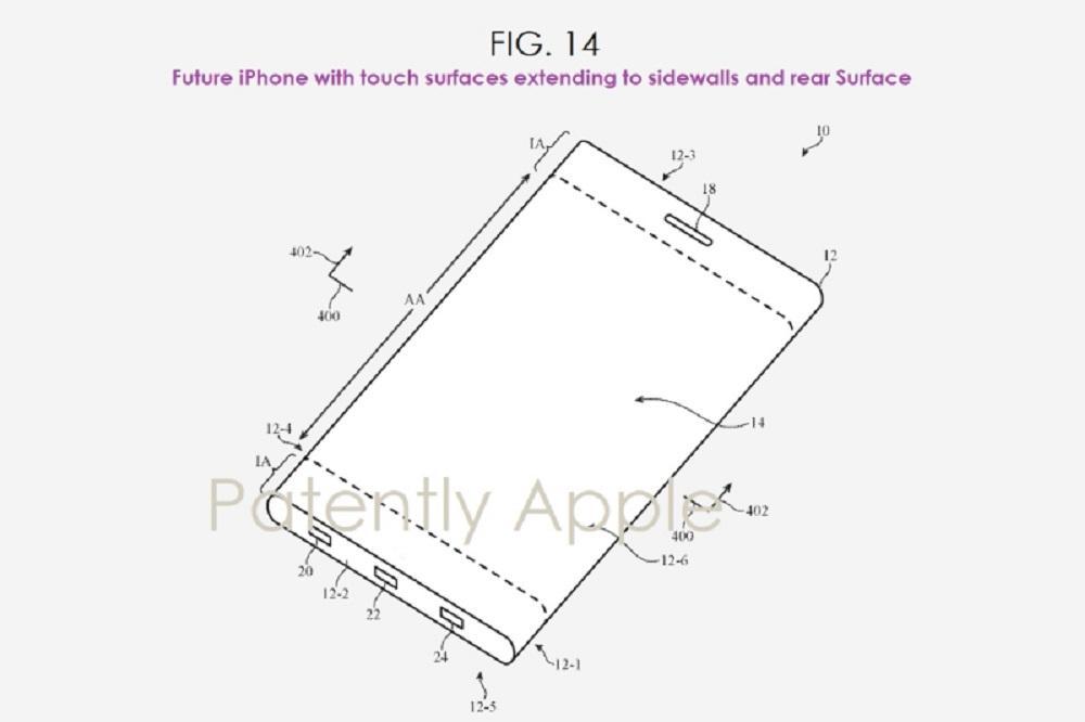 patente plegable iphone
