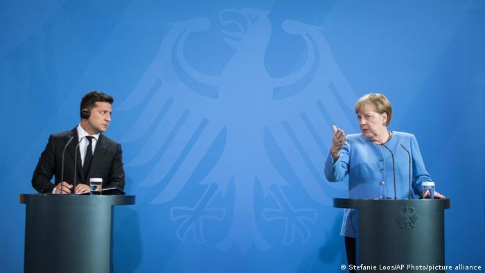 Alemania    El presidente ucraniano Volodymyr Selenskyj en Berlín