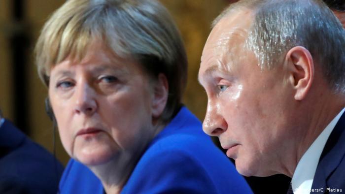 Cumbre de París Ucrania Merkel Putin