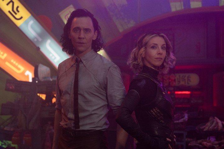 Loki.  la serie del universo Marvel que se puede ver en Disney Plus.