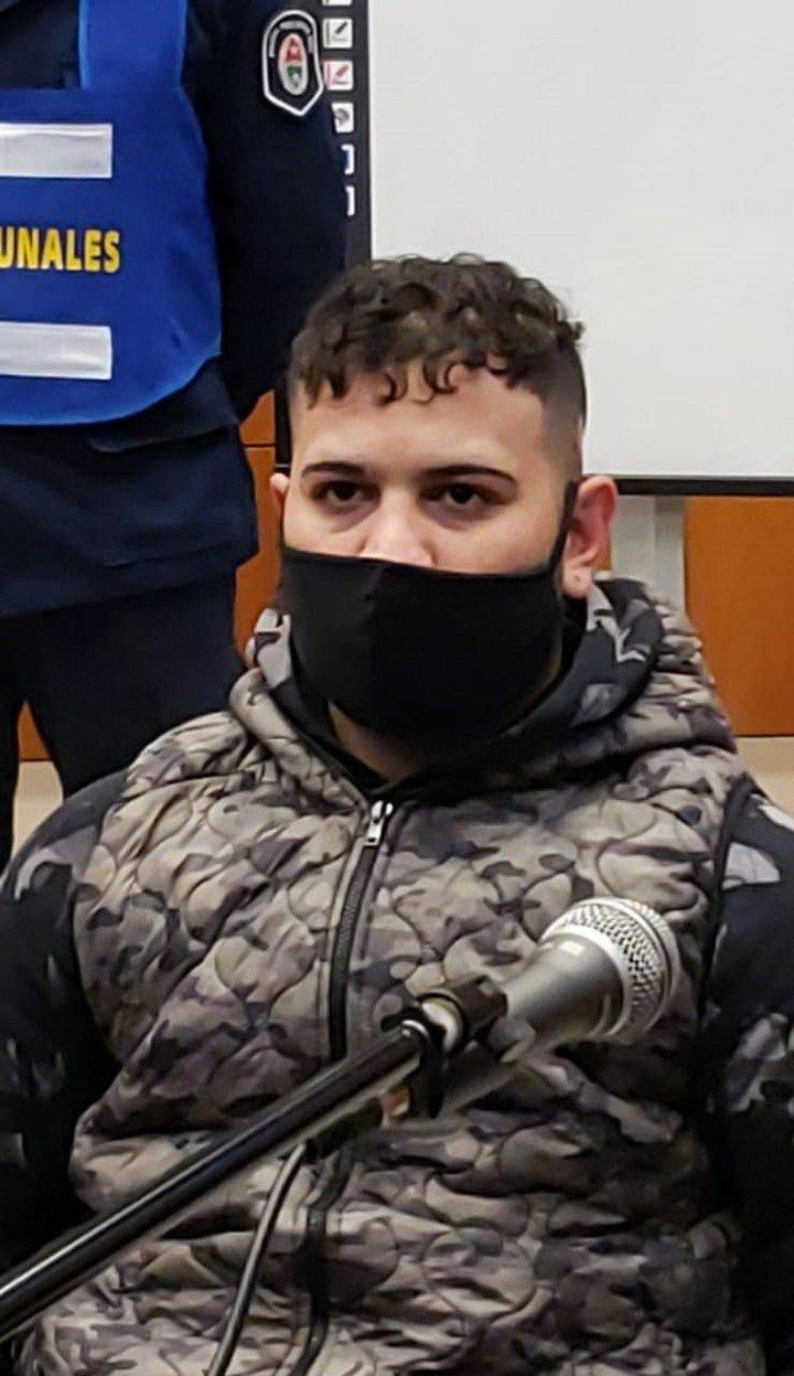 Ramiro Colman, otro de los detenidos por el delito de contable en Paraná.  Foto: Telam