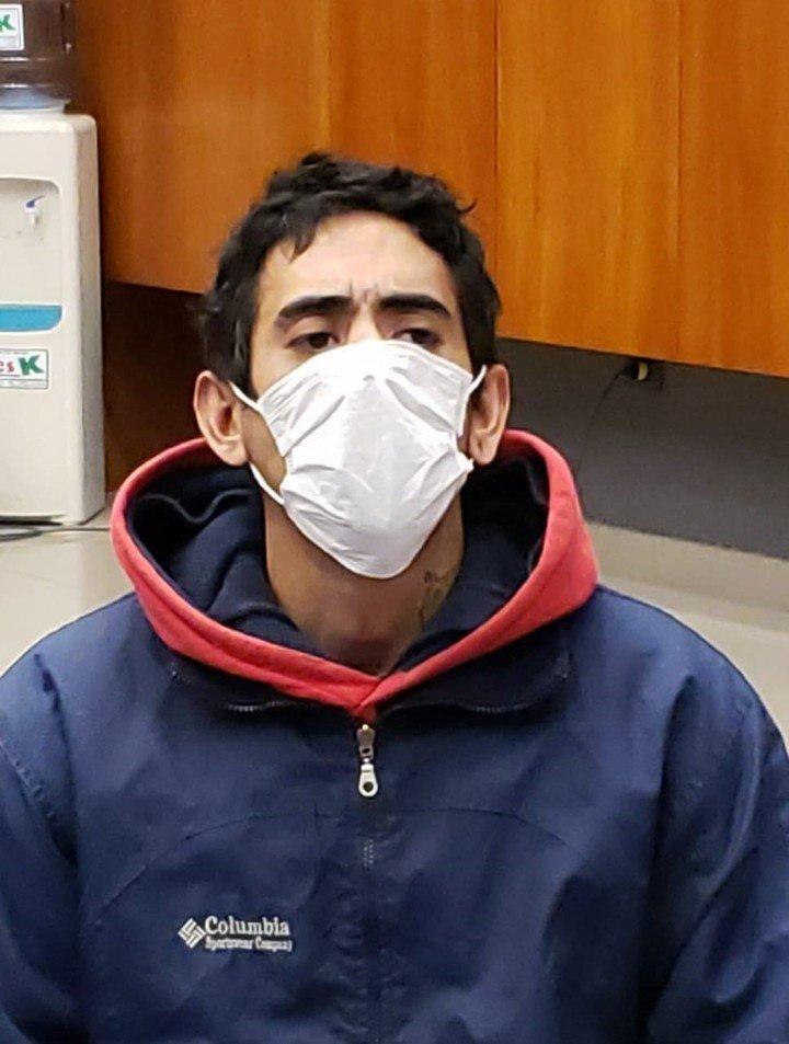 Garay, otro de los detenidos, se negó a testificar.  Foto: Telam