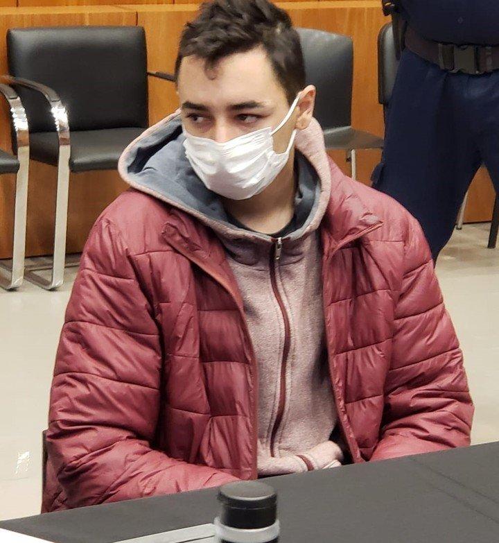 Ezequiel Morato, el sospechoso de haber tenido contacto previo con la víctima.  Foto: Telam