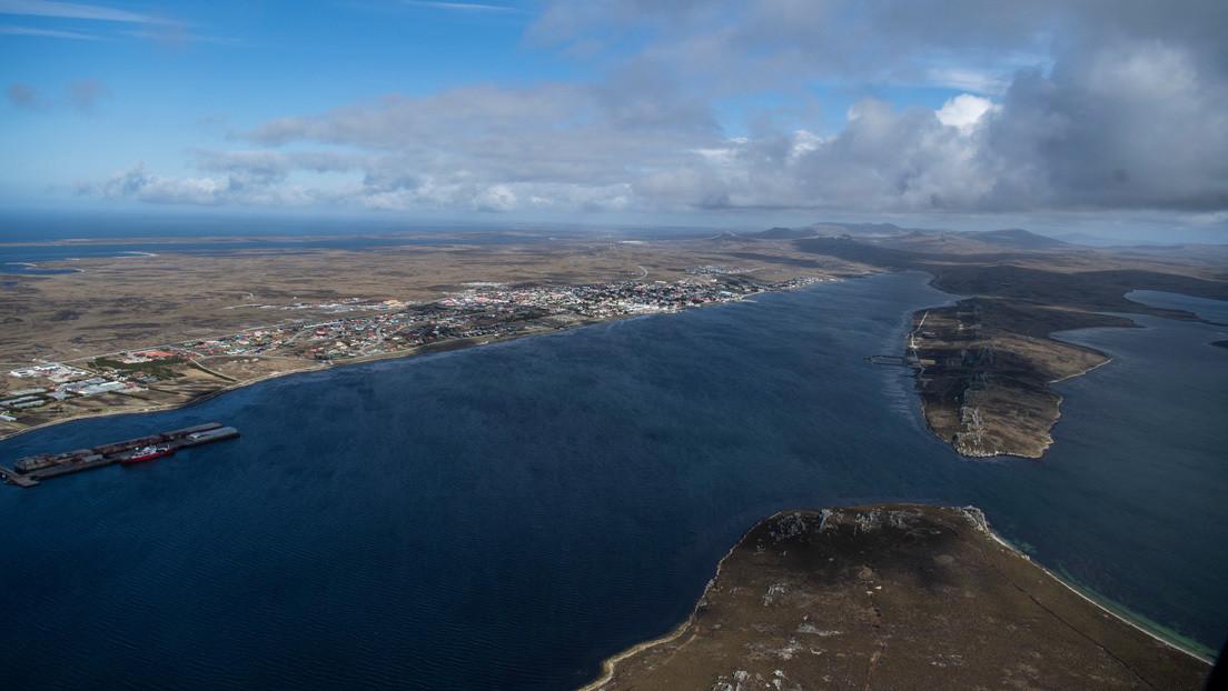 """Argentina rechaza """"ilegítimo"""" Ejercicios militares con lanzamiento de misiles del Reino Unido en las Islas Malvinas."""