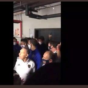 ¿Están detenidos los jugadores de Boca?