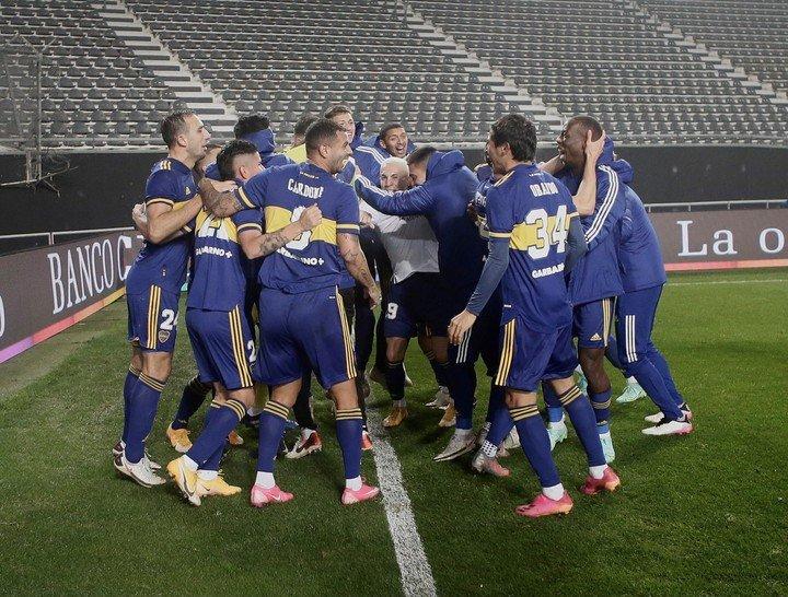 El partido de Boca tras haber eliminado a River en la Copa Argentina.