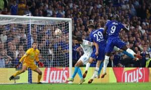 Romelu Lukaku encabeza al Chelsea en la delantera.