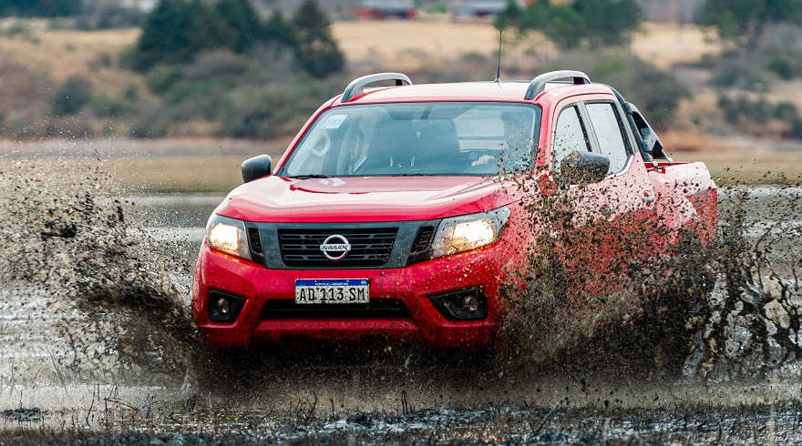 Nissan Frontier, uno de los más vendidos en Argentina.