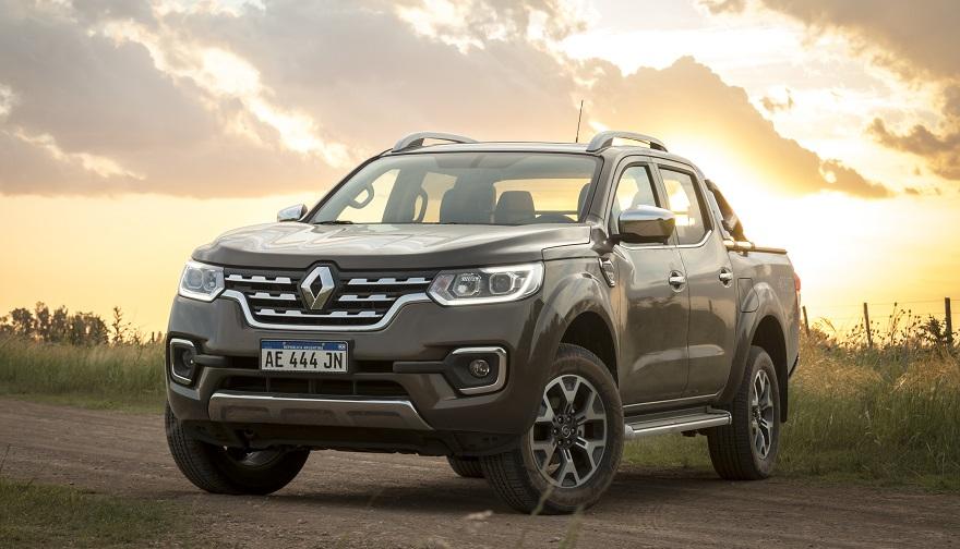 Renault Alaskan, el más nuevo de fabricación nacional.