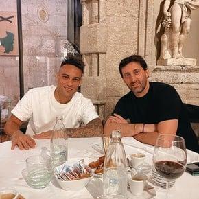 Cumbre Interista: Lautaro, Correa y Milito juntos en Milán