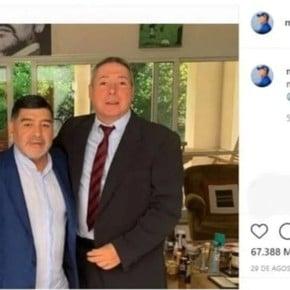 Publicaciones que se eliminaron de la cuenta de Maradona