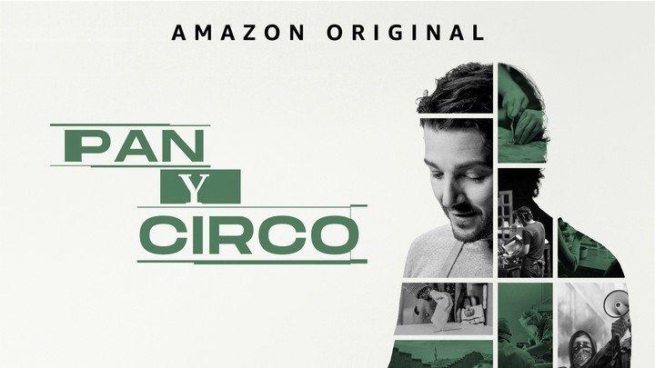El nuevo cartel oficial de la serie en el que Diego Luna muestra otra faceta.  Foto: Amazon Prime.
