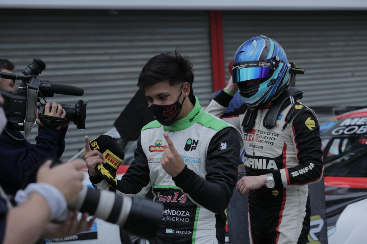 Top Race, Palau y Moscardini, gran triunfo