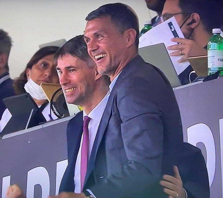 Paolo, papá repugnante, gritó desde el podio.  Foto: Captura de Twitter.