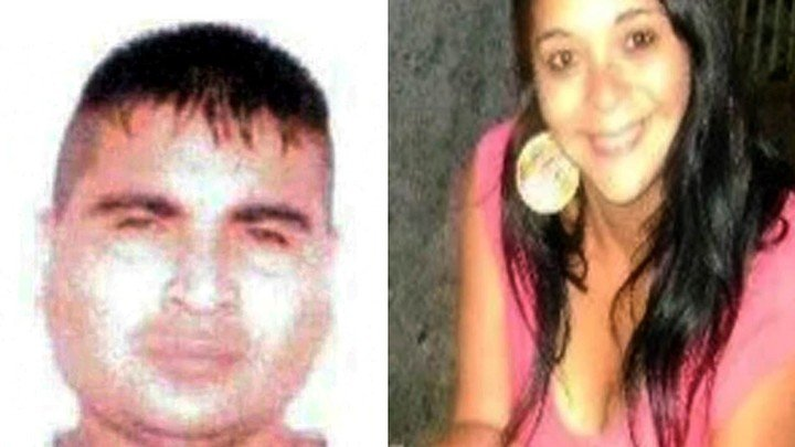 El feminicidio Daiana Almeida y la víctima, Miguel Angel Nievas.
