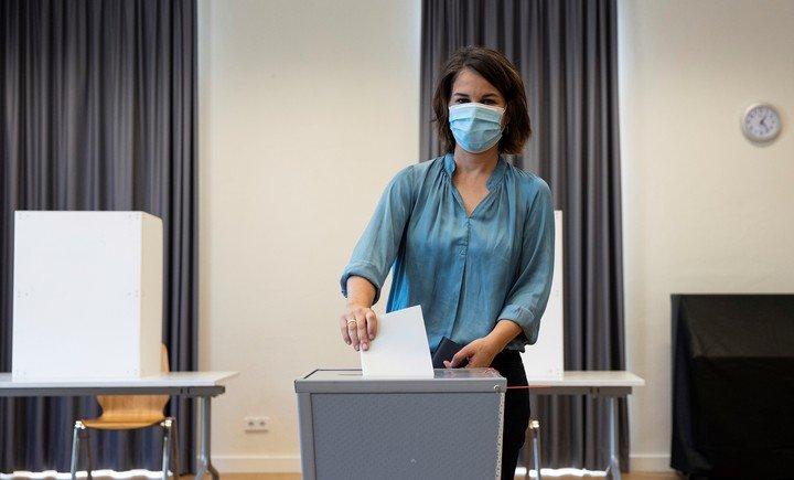 Annalena Baerbock, del Partido Verde.  Tu apoyo podría ser clave.  Foto AP