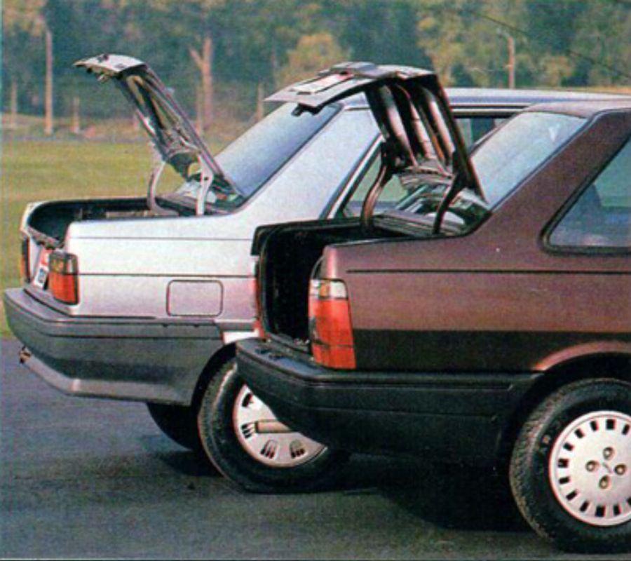Reno 9 GTL vs.  Fiat Duna SCL
