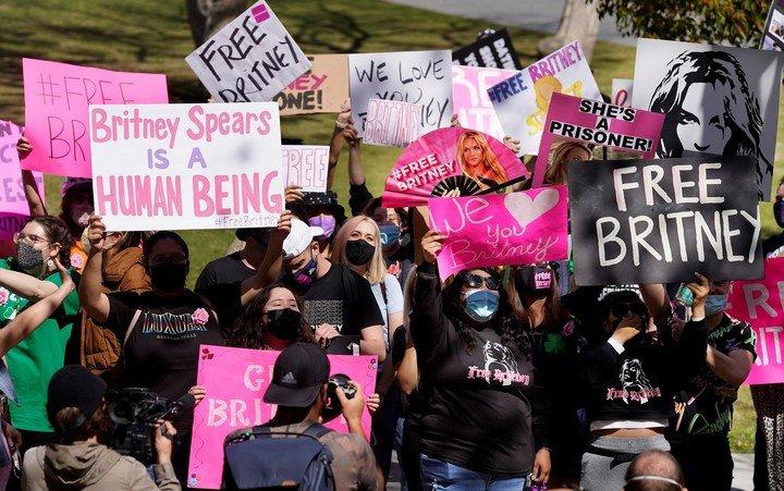 #FreeBritney, la campaña de apoyo a la cantante pop de 39 años.