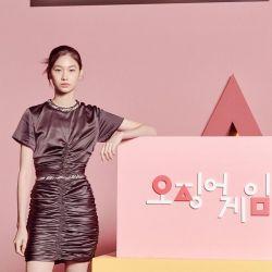 """¿Quién es la pareja de HoYeon Jung, la glamorosa actriz de """"El juego del calamar"""""""