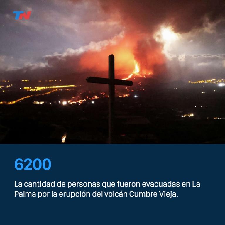 Volcán la Palma: hubo nuevas erupciones y el aeropuerto local cerrado