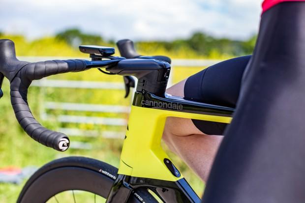 Tubo de dirección y cabina de bicicleta de carretera aero de Cannondale
