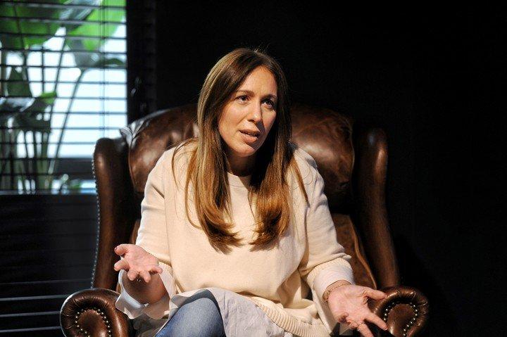 María Eugenia Vidal.  Foto Martín Bonetto
