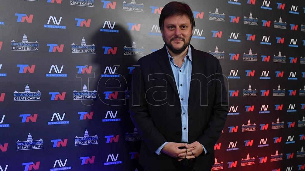 Leandro Santoro se centró en la excesiva toma de deuda del gobierno anterior (Foto: Maximiliano Luna).