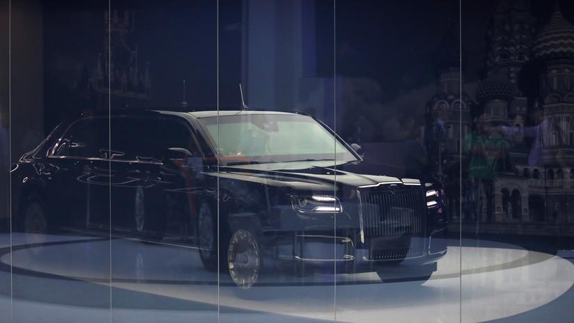 Rusia anuncia el precio de su lujoso vehículo blindado Aurus Senat